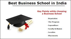 how to chose right business school