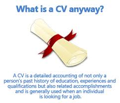 Right CV to get the job