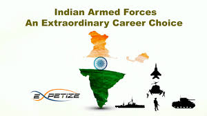indian armed forces as career