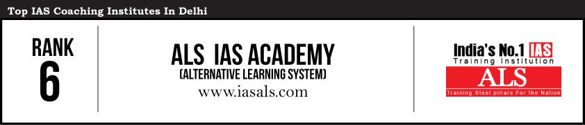 Rank 6- Best IAS Coaching In Delhi