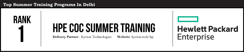 Rank 1 | Summer Training Programs in Delhi & NCR | Summer 2019