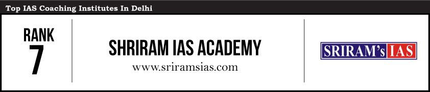 Rank 7- Best IAS Coaching In Delhi