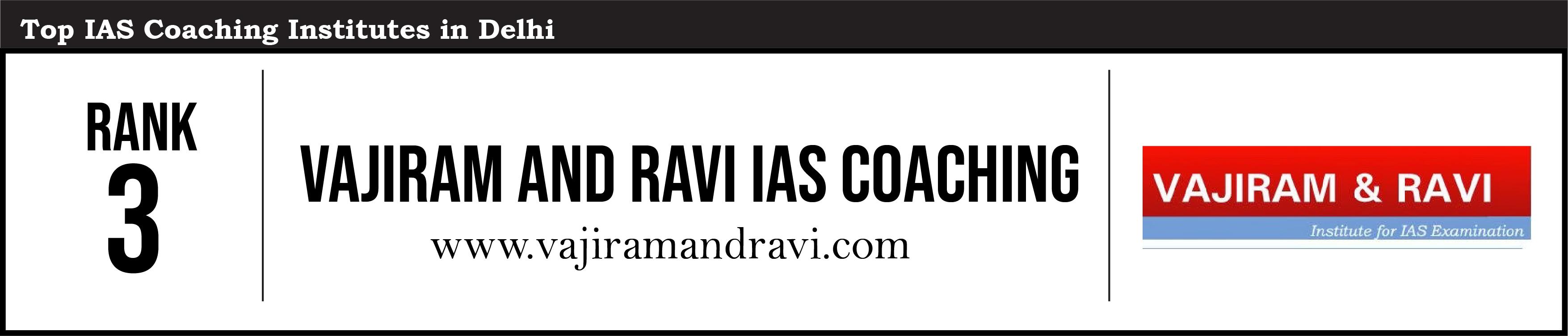 Rank 3- Best IAS Coaching In Delhi