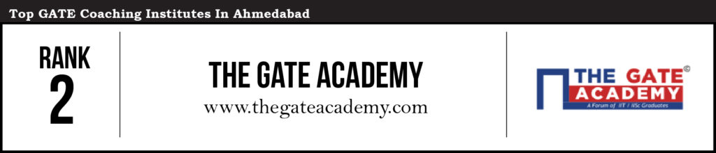 GATE-Ahmedabad_Rank 2