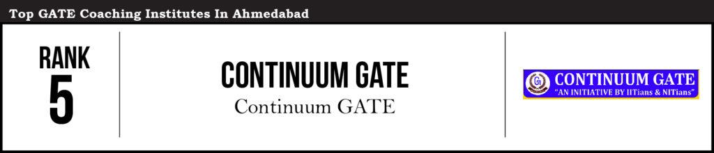 GATE-Ahmedabad_Rank 5