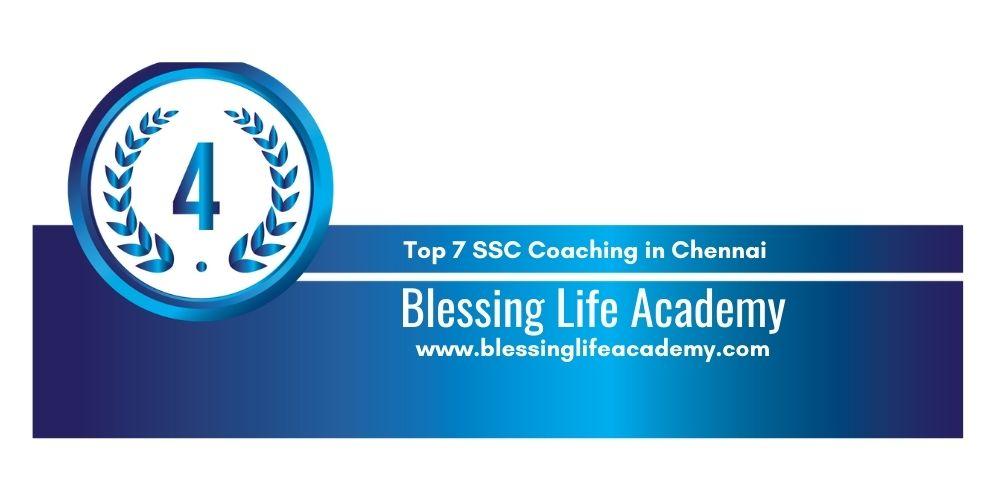Rank 4 ssc coaching centre chennai