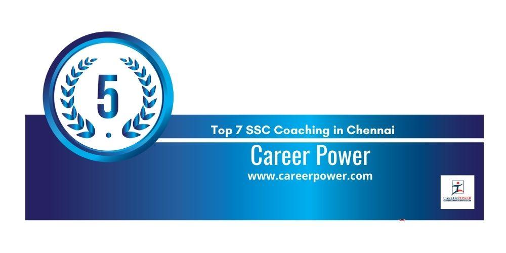 Rank 5 ssc coaching centre chennai