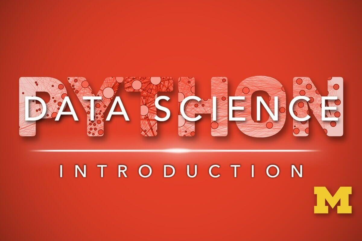 Applied Data Science with Python Specialization— UMich (Coursera)