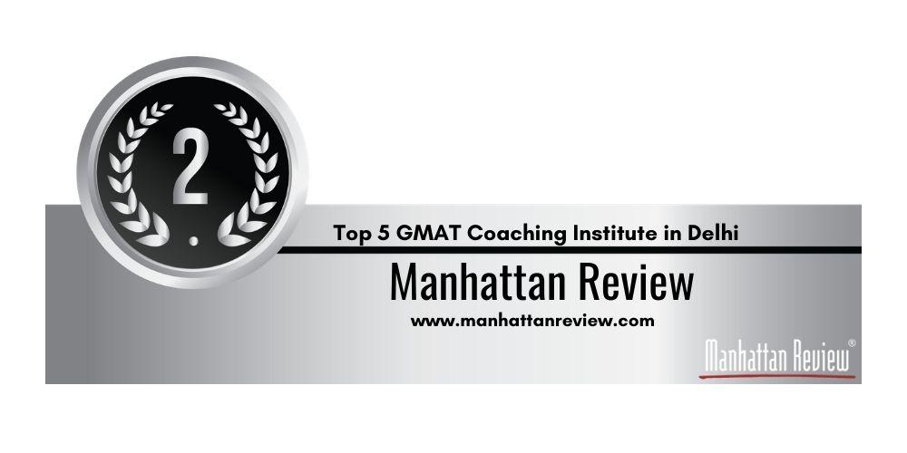 GMAT Coaching in Delhi Rank 2
