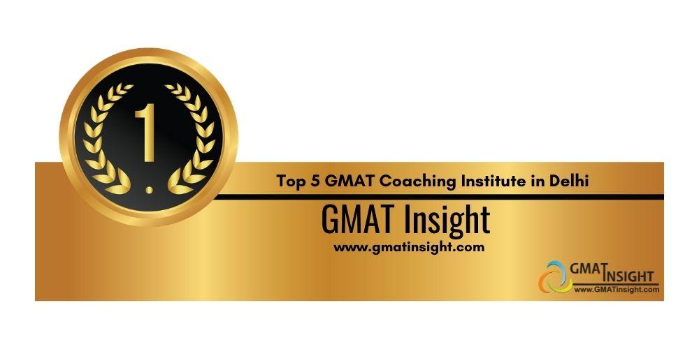 GMAT Coaching in Delhi Rank 1
