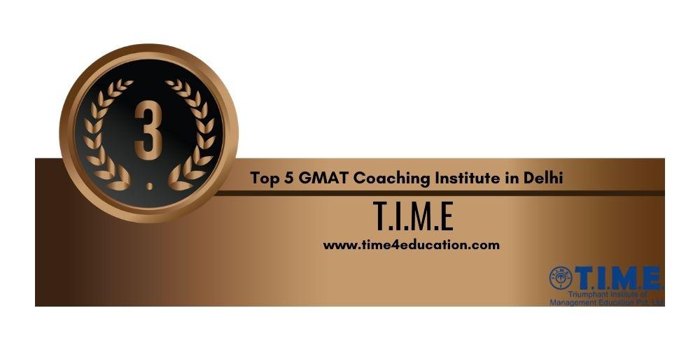 GMAT Coaching in Delhi Rank 3