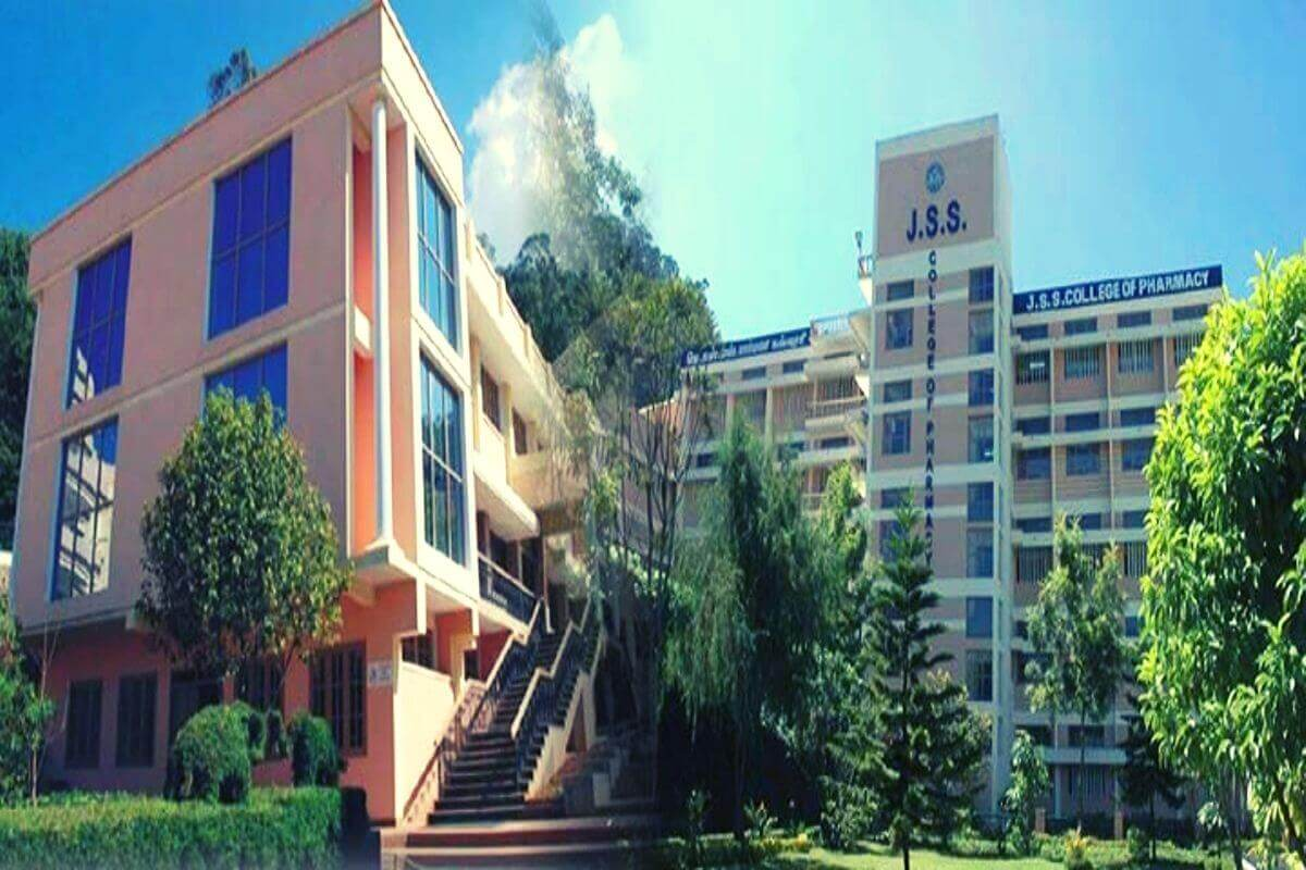 jss college of pharmacy ooty