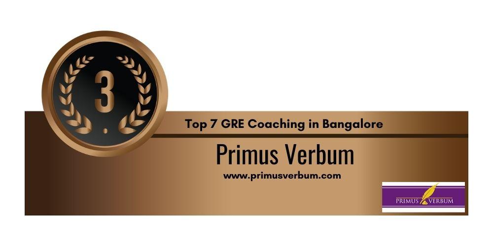 GRE Coaching in Bangalore 3