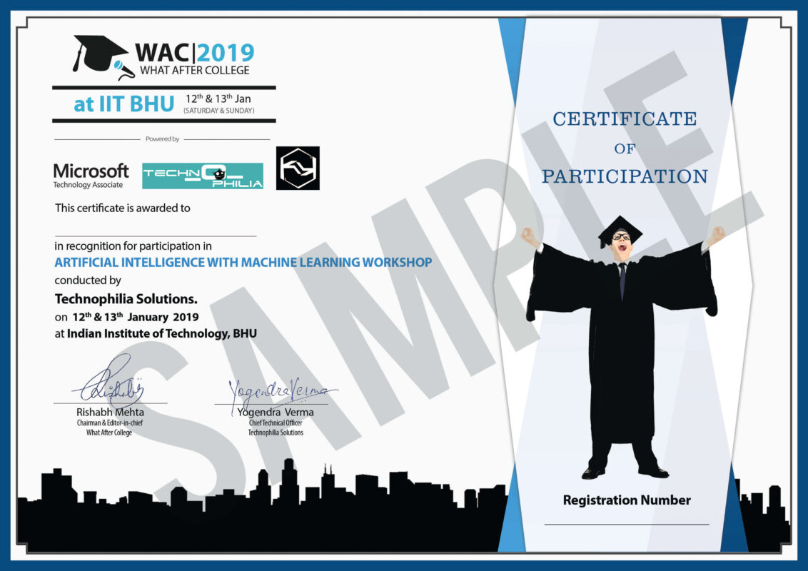 what after college certificate