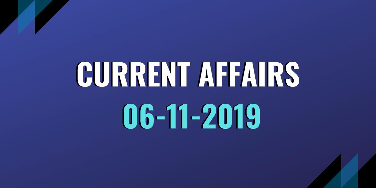 Current Affair 06-11-2019