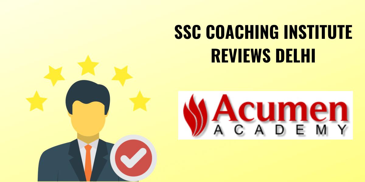 Acumen SSC institute