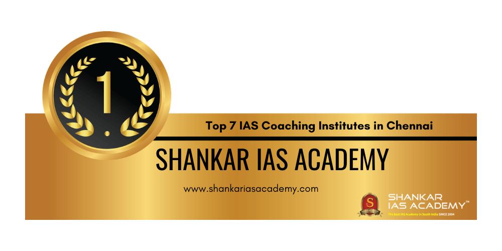 rank 1 ias coaching institutes in chennai