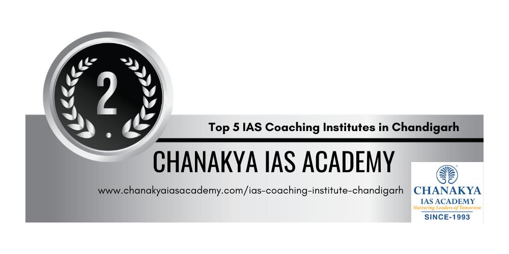 rank 2 IAS coaching institutes chandigarh