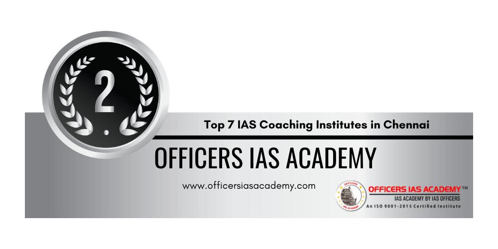 rank 2 ias coaching institutes in chennai