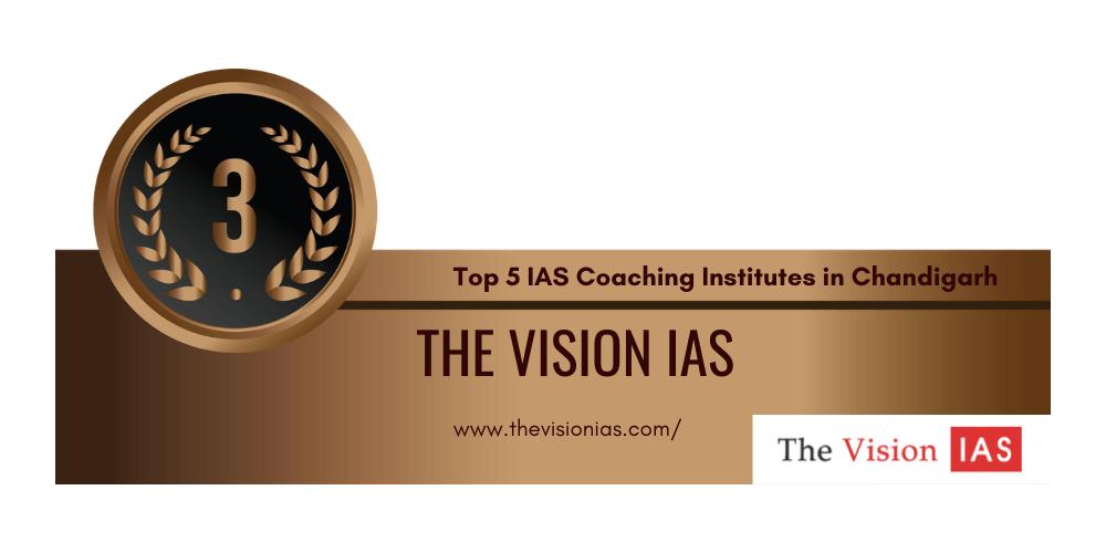 rank 3 IAS coaching institutes chandigarh