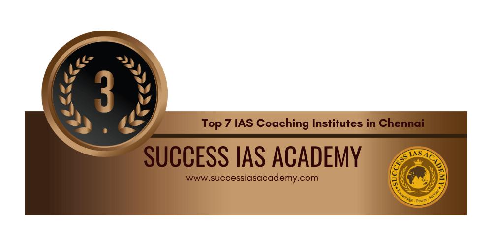 rank 3 ias coaching institutes in chennai