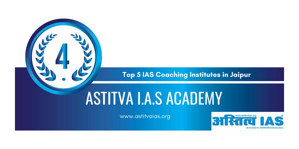 rank 4 ias coaching institutes in jaipur