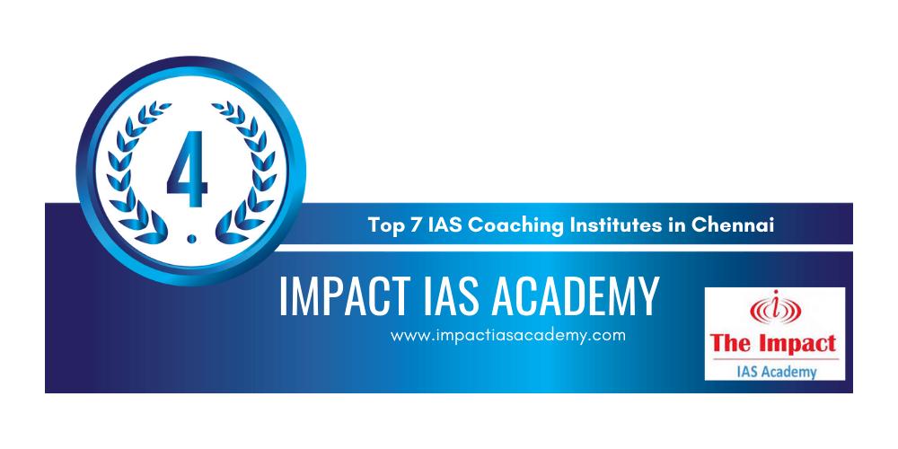 rank 4 ias coaching institutes in chennai