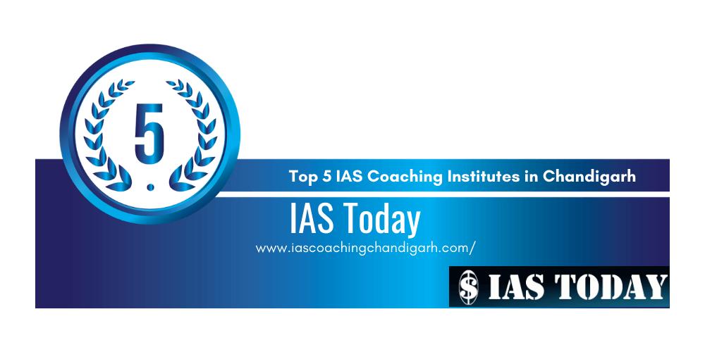 rank 5 IAS coaching institutes chandigarh