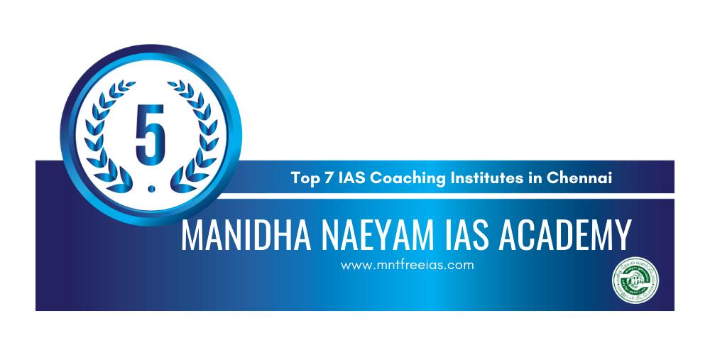 rank 5 ias coaching institutes in chennai