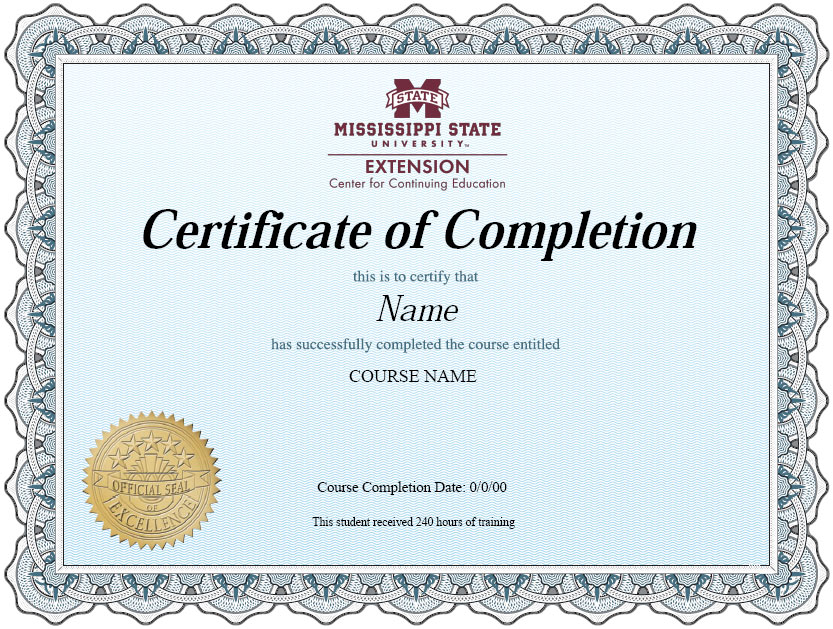 Mississippi-State-University-Certificate