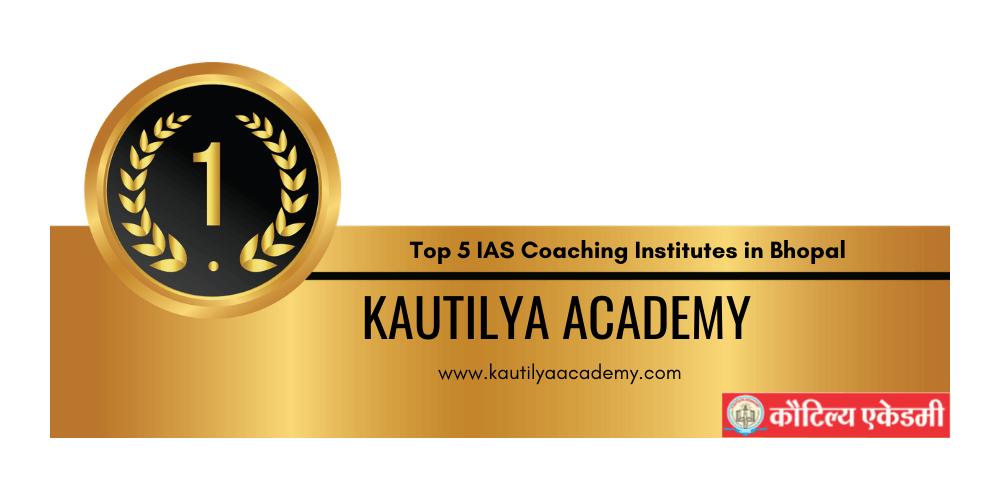 rank 1 ias coaching institutes in bhopal