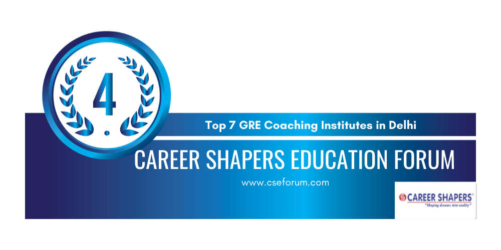 rank 4 gre coaching in delhi