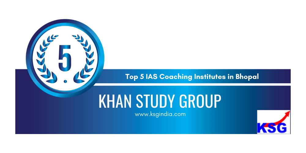rank 5 ias coaching institutes in bhopal