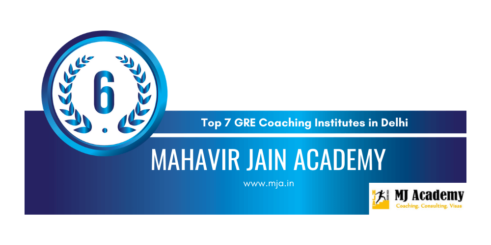 rank 6 gre coaching in delhi