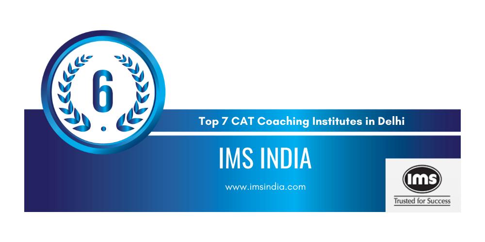 rank 6 cat preparation institutes in delhi