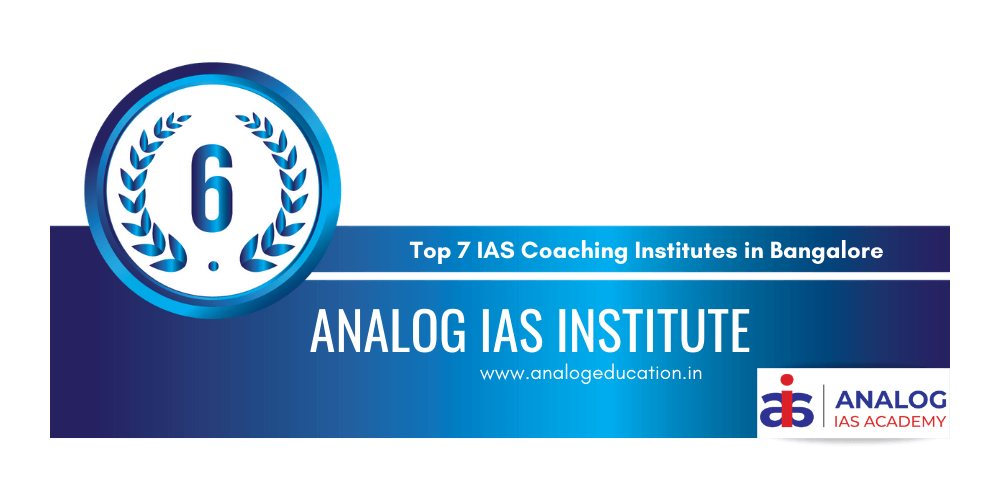 rank 6 ias coaching institutes bangalore