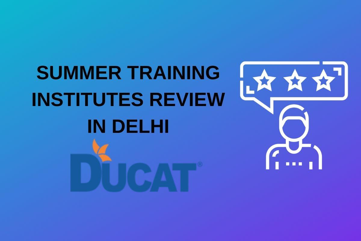 summer training ducat