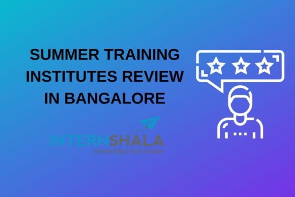 summer training internshala