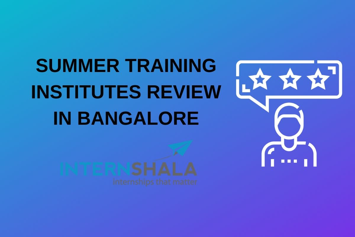 summer training internshala