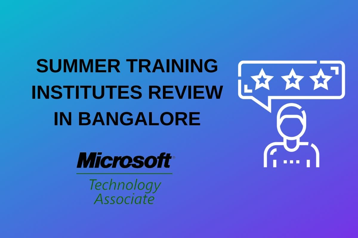 summer training bangalore mta