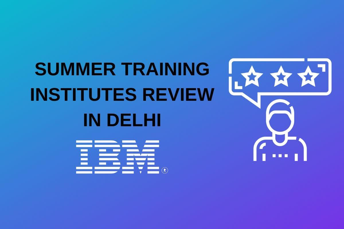 ibm summer training