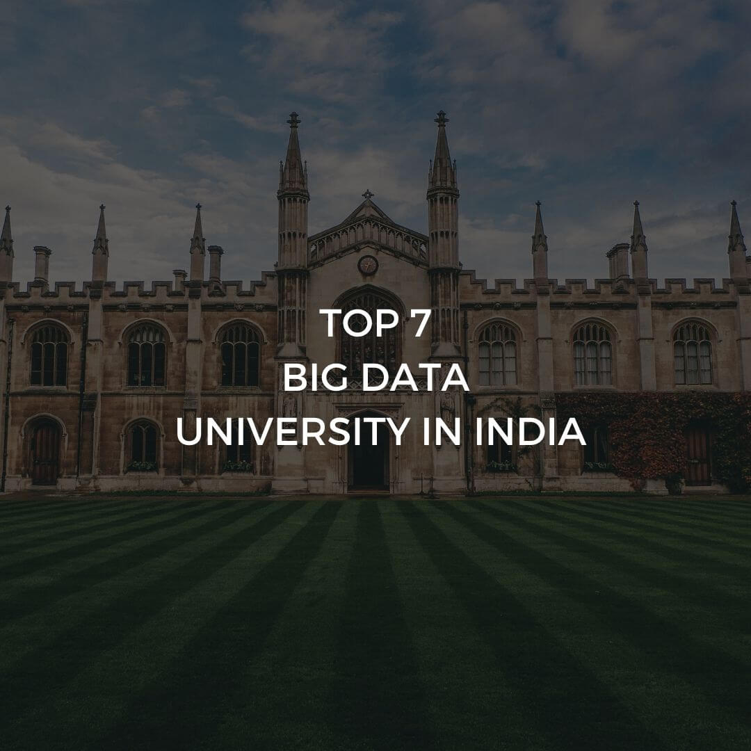 Top 7 Big Data University in Delhi