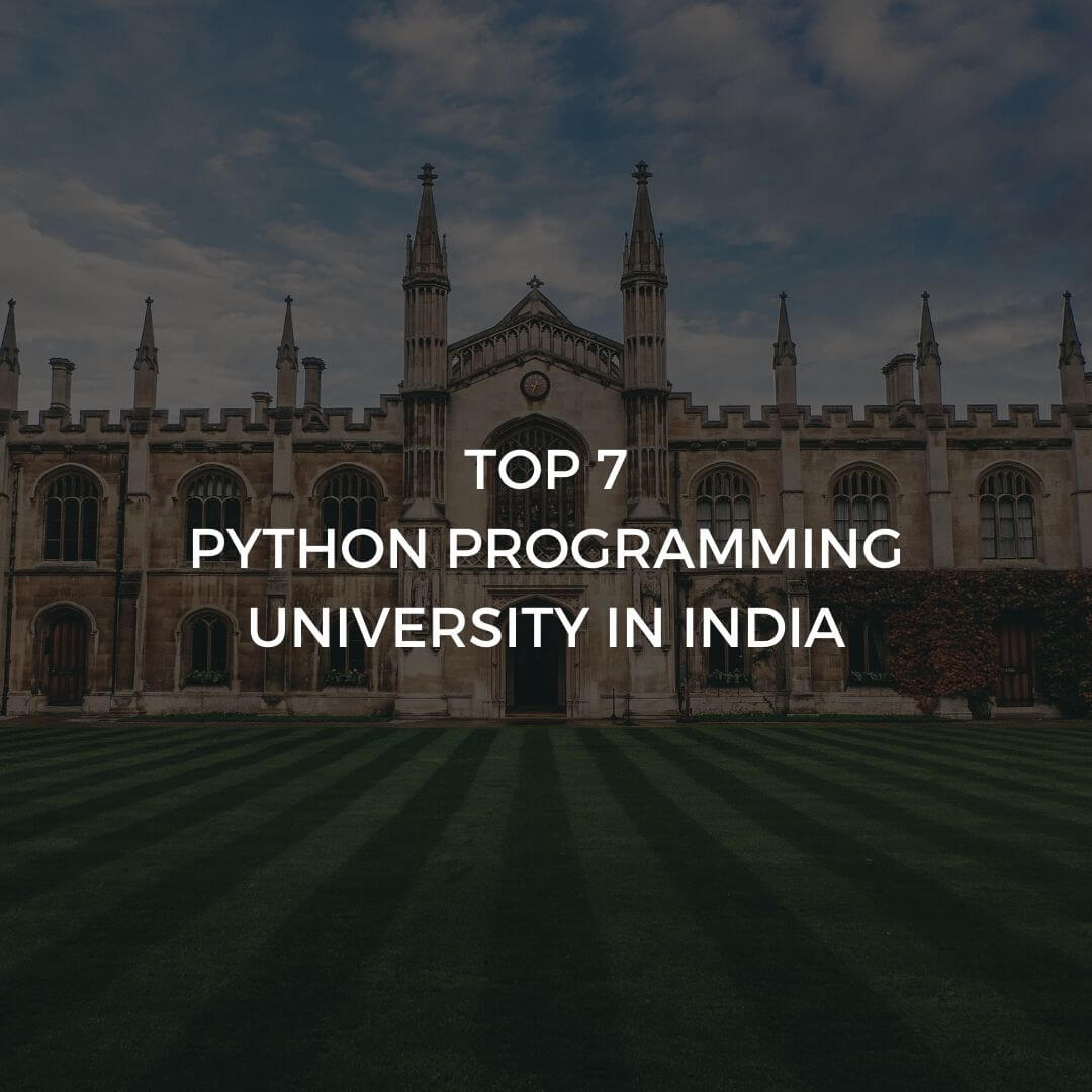 Top 7 python programming university
