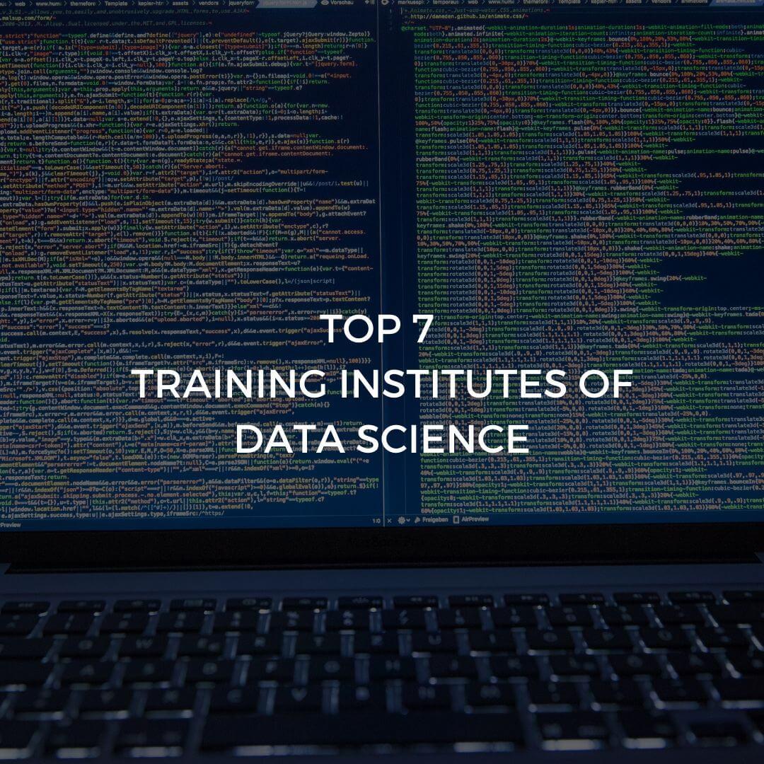Top Training Institutes Data science