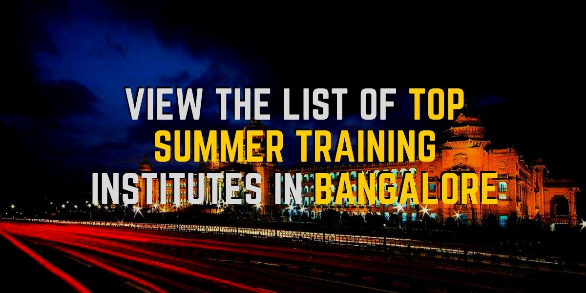 summer training bangalore