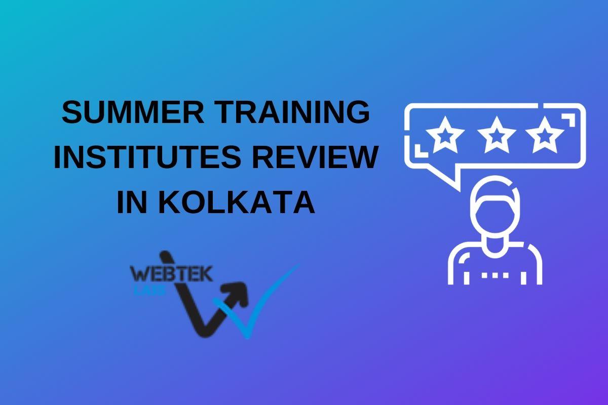 summer training webtek