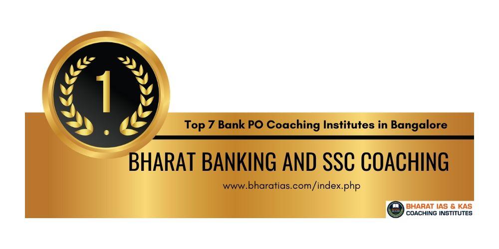 Bank PO Coaching Institutes Bangalore