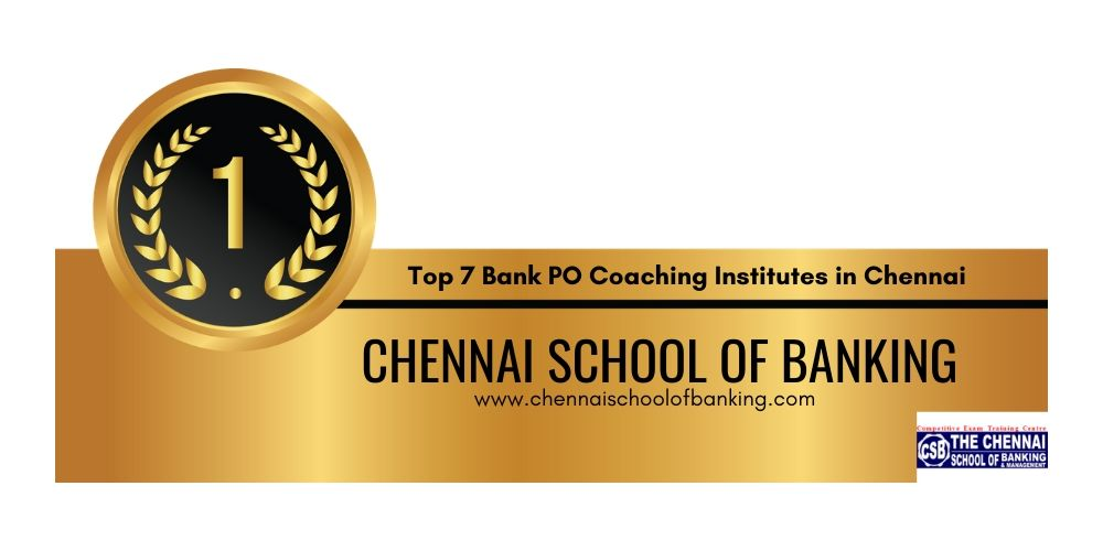Bank PO Coaching Institutes Chennai