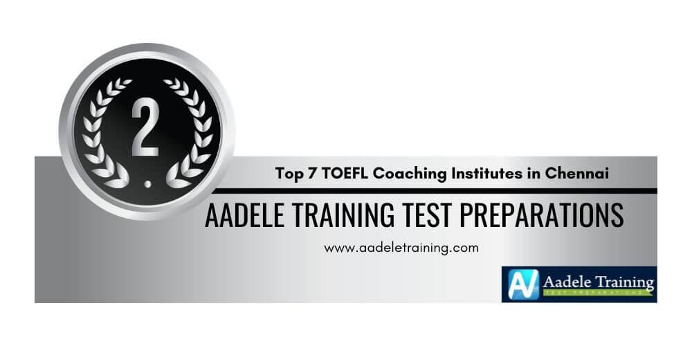 TOEFL Coaching Institutes Chennai