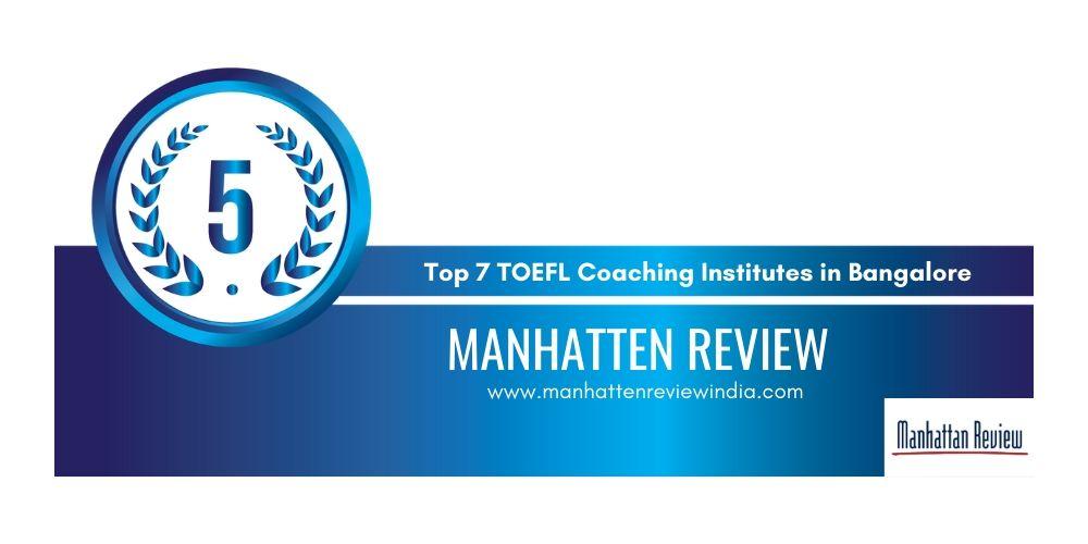 TOEFL Coaching Institutes Bangalore